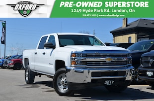 2017 Chevrolet Silverado 2500HD WT - Bed Liner, UConnect/ Bluetooth, Backup Camera Truck Crew Cab