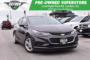 2016 Chevrolet Cruze LT Auto - Well Equipped, Fuel Efficient Sedan