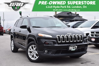 2017 Jeep Cherokee North - Low Mileage, Well Equipped SUV