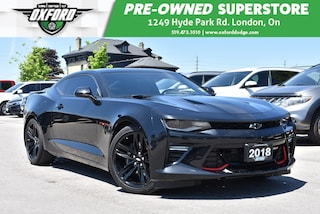 2018 Chevrolet Camaro 2SS - One Owner, Like New, Sunroof, UConnect/Bluet Coupe