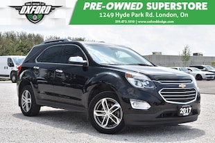 2017 Chevrolet Equinox Premier - One Owner, Great Family Vehicle SUV