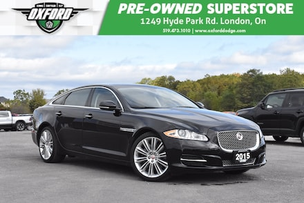 2015 Jaguar XJ XJL 3.0L Portfolio - Luxury Features, Front Seats  Sedan