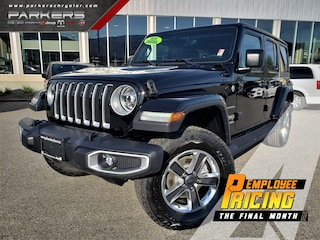2020 Jeep Wrangler Unlimited Sahara SUV 1C4HJXEM8LW210609