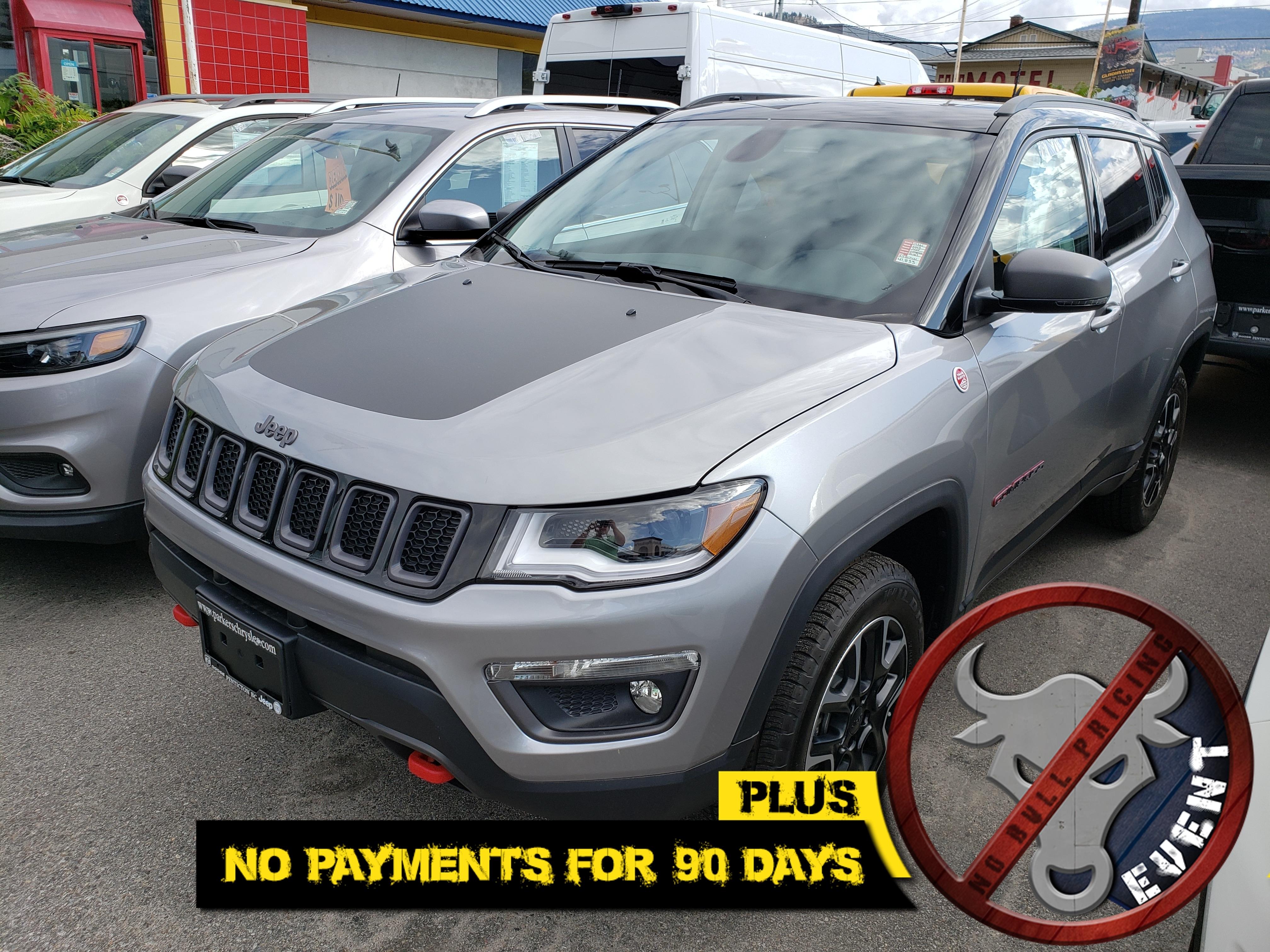 New 2019 Jeep Compass Trailhawk SUV for sale in in Penticton, BC