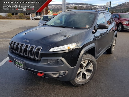Used 2015 Jeep Cherokee Trailhawk SUV for sale in Penticton, BC