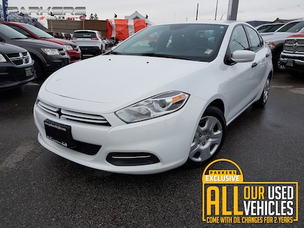 Used 2015 Dodge Dart Aero Sedan for sale in Penticton, BC