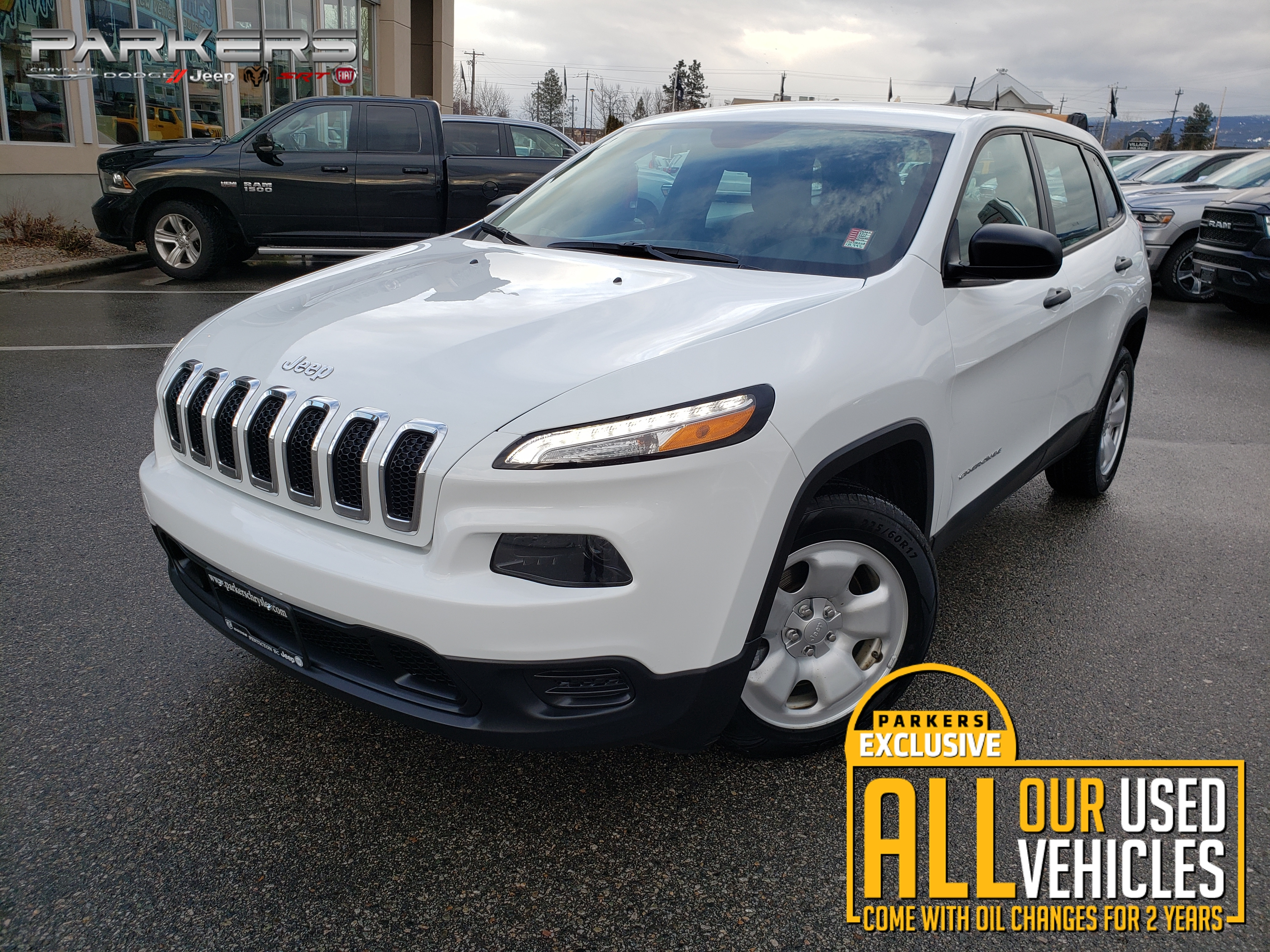 Used 2015 Jeep Cherokee Sport SUV for sale in Penticton, BC