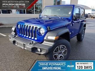 2020 Jeep Wrangler Sport S SUV 1C4GJXAG6LW177606