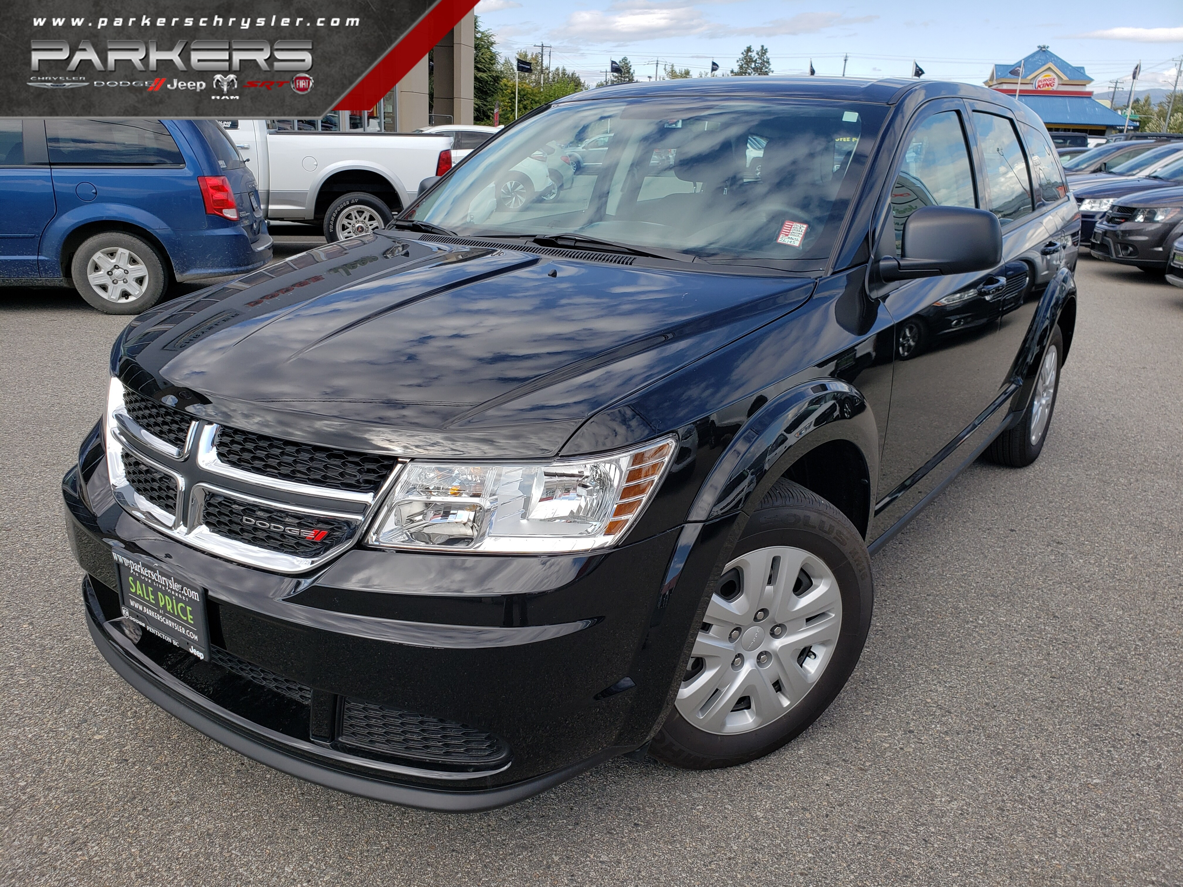 Used 2018 Dodge Journey SE SUV for sale in Penticton, BC