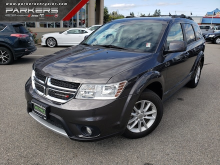 Used 2017 Dodge Journey SXT SUV for sale in Penticton, BC