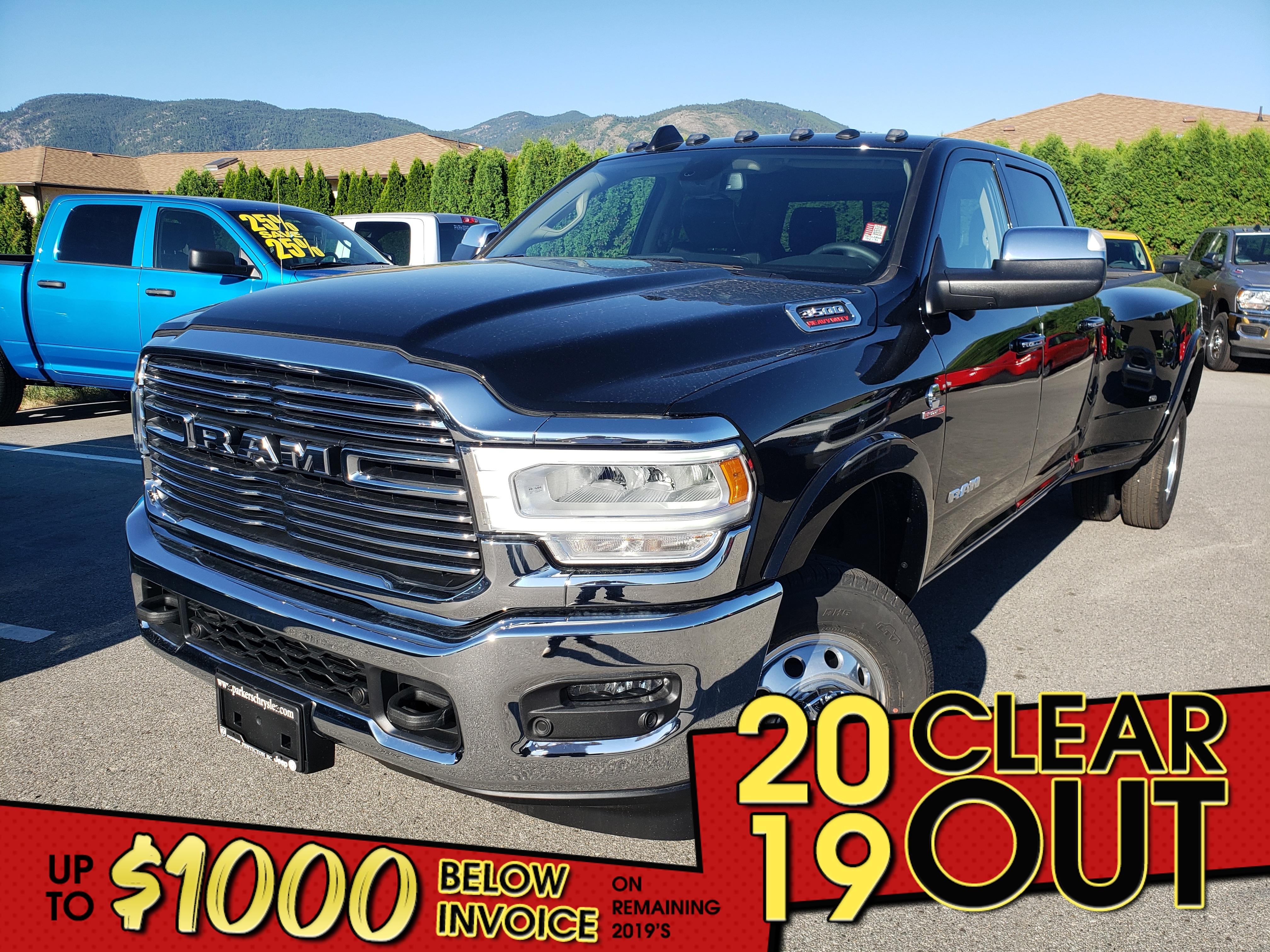 New 2019 Ram New 3500 Laramie Truck Crew Cab for sale in in Penticton, BC