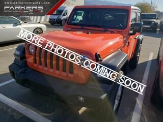 2020 Jeep Wrangler Sport S SUV 1C4GJXAN7LW155208