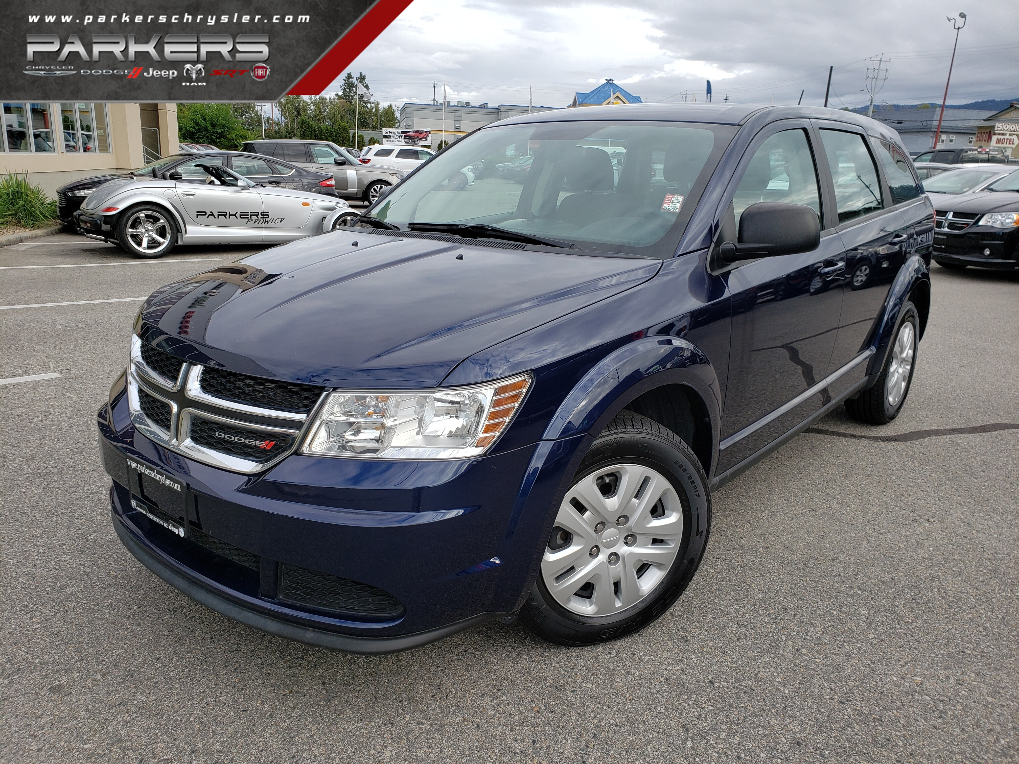 Used 2017 Dodge Journey SE SUV for sale in Penticton, BC