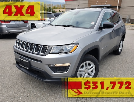 New 2021 Jeep Compass Sport 4x4 for sale in Penticton, BC for sale in in Penticton, BC