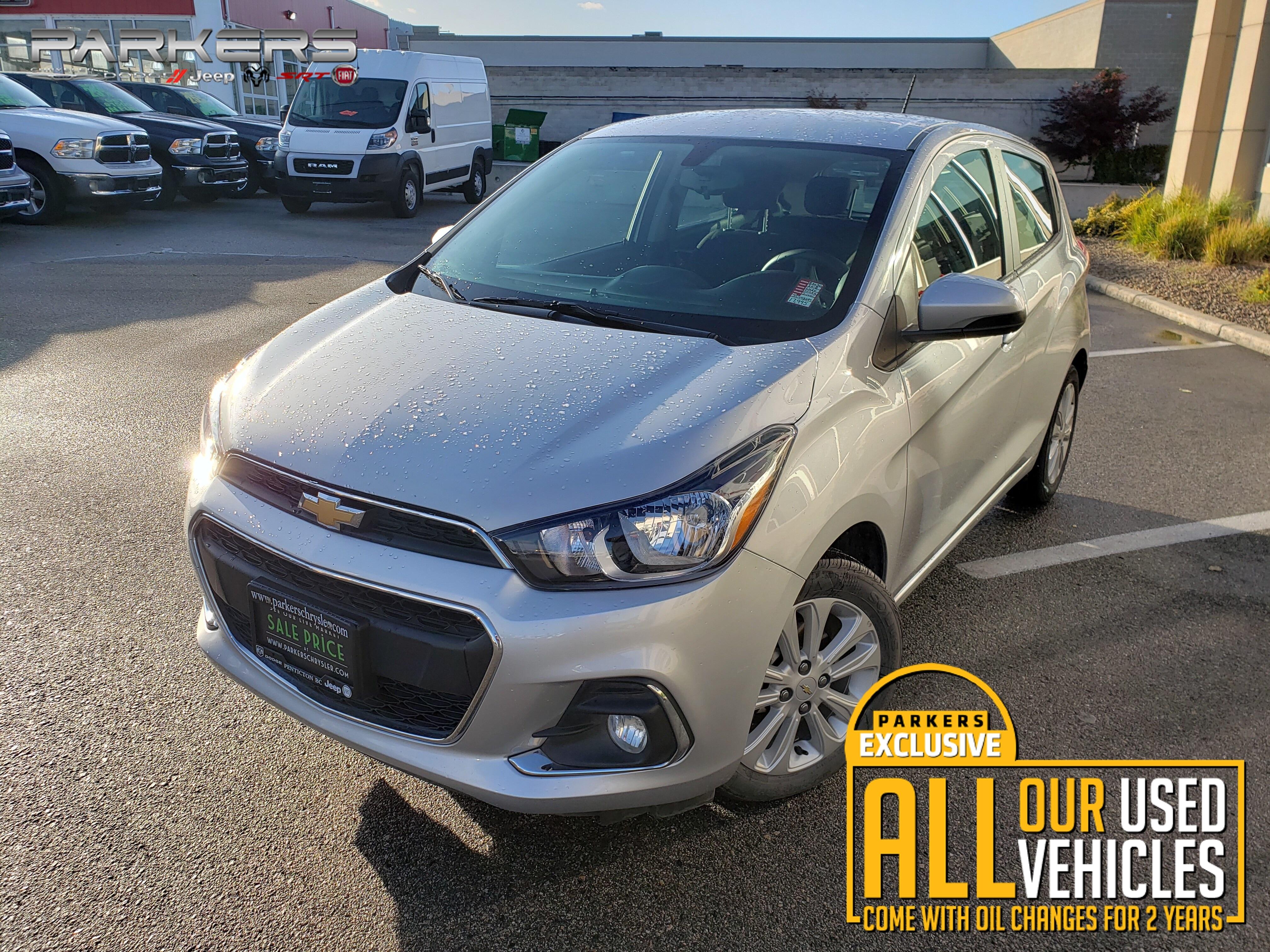 Used 2018 Chevrolet Spark 1LT Hatchback for sale in Penticton, BC