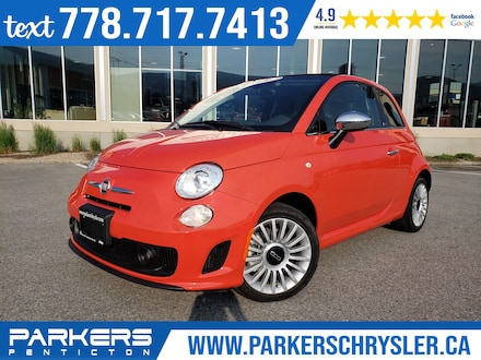 2019 FIAT 500c Lounge Convertible for sale in Penticton, BC