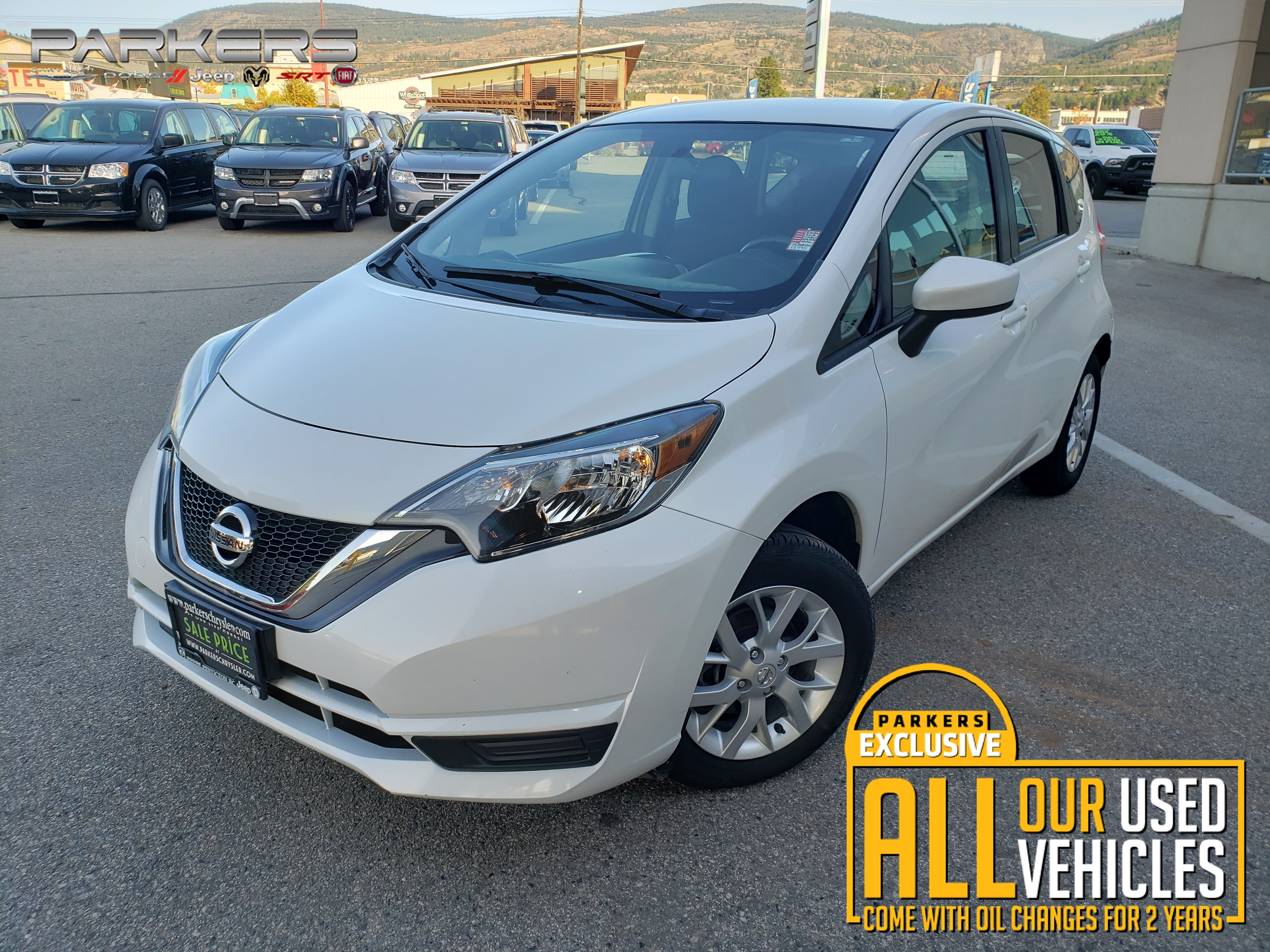 Used 2018 Nissan Versa Note SV Hatchback for sale in Penticton, BC