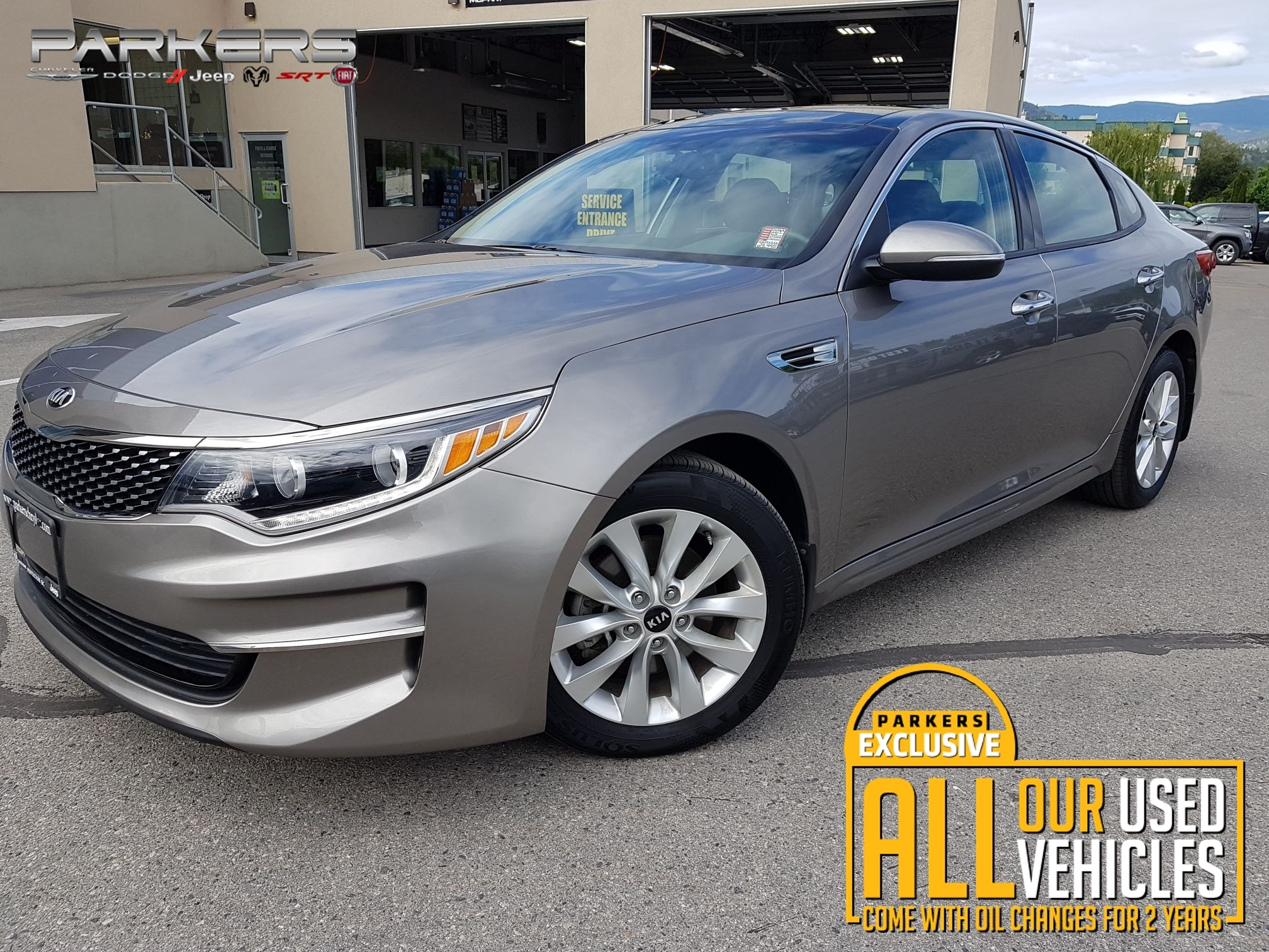 Used 2017 Kia Optima EX Sedan for sale in Penticton, BC