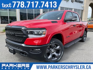 New 2021 Ram 1500 Built to Serve 4x4 Crew Cab 144.5 in. WB for sale in Penticton, BC for sale in Penticton, BC