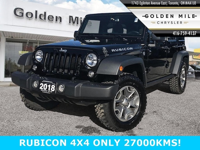 2018 Jeep Wrangler JK Unlimited Rubicon FOUR DOOR Rubicon 4x4