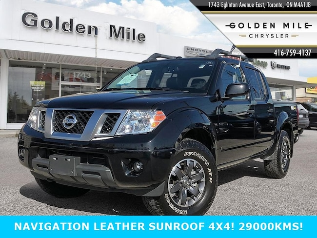2018 Nissan Frontier PRO-4X CREW CAB 4X4 Crew Cab PRO-4X Standard Bed 4x4 Auto