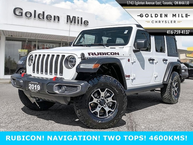2019 Jeep Rubicon NEW JL BODY STYLE!! TWO TOPS Rubicon 4x4