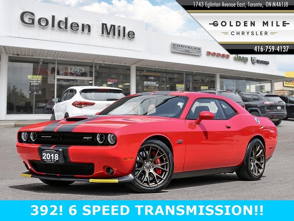 2018 Dodge Challenger SRT 392 SRT 392 RWD