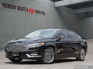 2017 Ford Fusion Energi SE Luxury, Driver Assist Package, Roof, EV Sedan