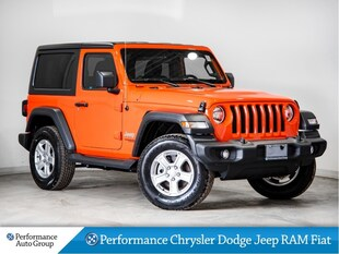 2018 Jeep Wrangler * Sport * 2.0L Turbo * HTD Seats * Demo Unit SUV