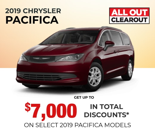 2019 Pacifica Special Offer