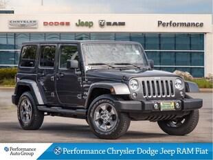 2018 Jeep Wrangler JK Unlimited Sahara * Leather * Nav * Heated Seats SUV