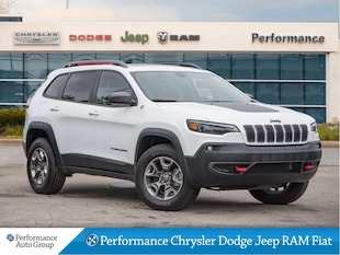 2019 Jeep Cherokee Trailhawk 4x4 * Pano Roof * Premium Leather SUV