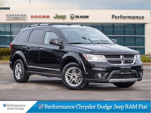 2014 Dodge Journey *R/T * AWD * Leather Trimmed Seats * NAV * DVD*