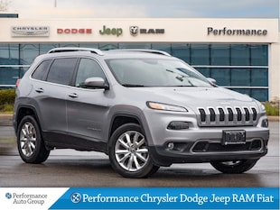 2016 Jeep Cherokee Limited * Leather * Nav * Panoramic Sunroof SUV