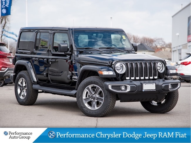 36a9d616 2018 Jeep Wrangler Sahara * Leather * NAV * Dual Tops * Demo Unit SUV
