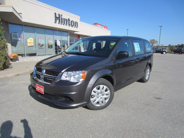 Dodge Canada Build And Price >> 2019 Dodge Grand Caravan Canada Value Package Van