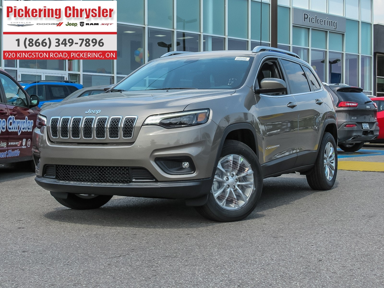 2019 Jeep New Cherokee 4X4 H-TED SEATS ALLOY WHEELS PUSH START REMOTE STA VUS