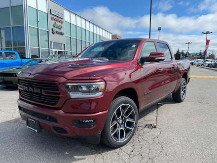 2021 Ram 1500 SPORT NAVI LEATHER AND SOUND SUNROOF PWR BOARDS  4x4 Crew Cab 144.5 in. WB