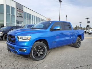 2021 Ram 1500 PANO ROOF POWER RUNNING BOARDS LEATHER &  SOUND 4x4 Crew Cab 144.5 in. WB