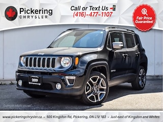 2019 Jeep Renegade Limited - Leather/MY SKY Roof/Apple Carplay/NAV SUV
