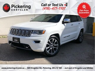 2018 Jeep Grand Cherokee Overland - Diesel/20S/Pano Roof/NAV/Cooled Seats SUV