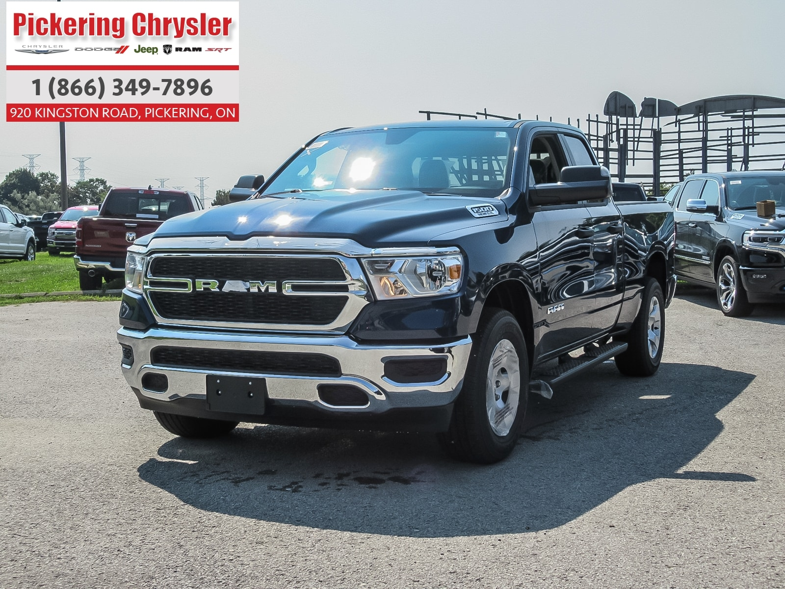 2019 Ram All-New 1500 ALL NEW DESIGN HEMI TOW PACKAGE REAR CAM QUAD CAB Truck Quad Cab