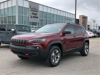 2019 Jeep Cherokee Trailhawk Elite - Apple Carplay/Leather/Pano Roof SUV