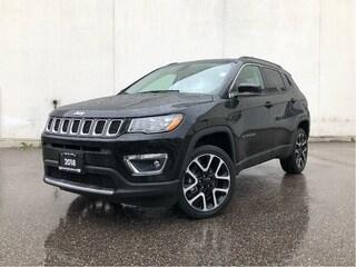 2018 Jeep Compass Limited - Leather/NAV/Sunroof/AWD SUV