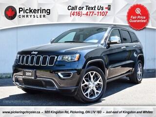 2019 Jeep Grand Cherokee Limited - Sunroof/Leather/Heated Seats/NAV/Carplay SUV