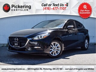 2017 Mazda Mazda3 GS - Heated Seats/Rear CAM/Alloys/Bluetooth Hatchback