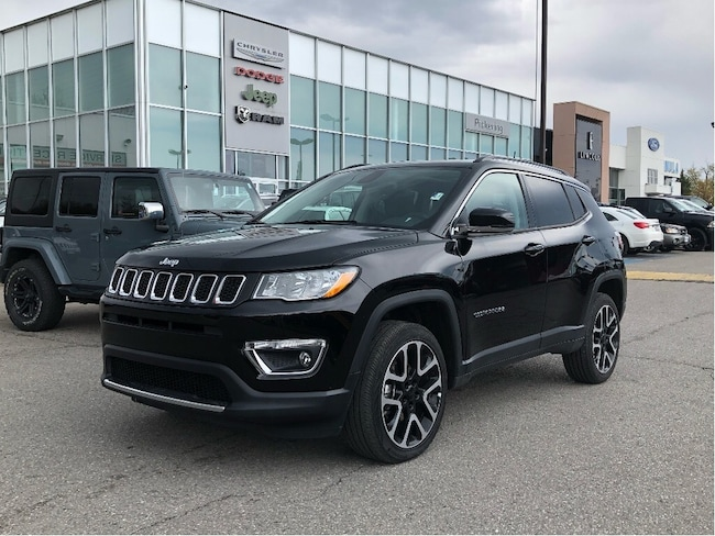 2018 Jeep Compass Limited - Leather/NAV/Sunroof/AWD SUV