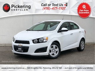 2012 Chevrolet Sonic LT - Power Windows/Power Locks/Bluetooth/AC/Manual Sedan