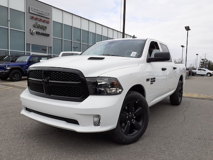 2020 Ram 1500 Classic NIGHT EDITION 8.4 RADIO POWER SEAT SUBZERO PACKAGE Truck Crew Cab