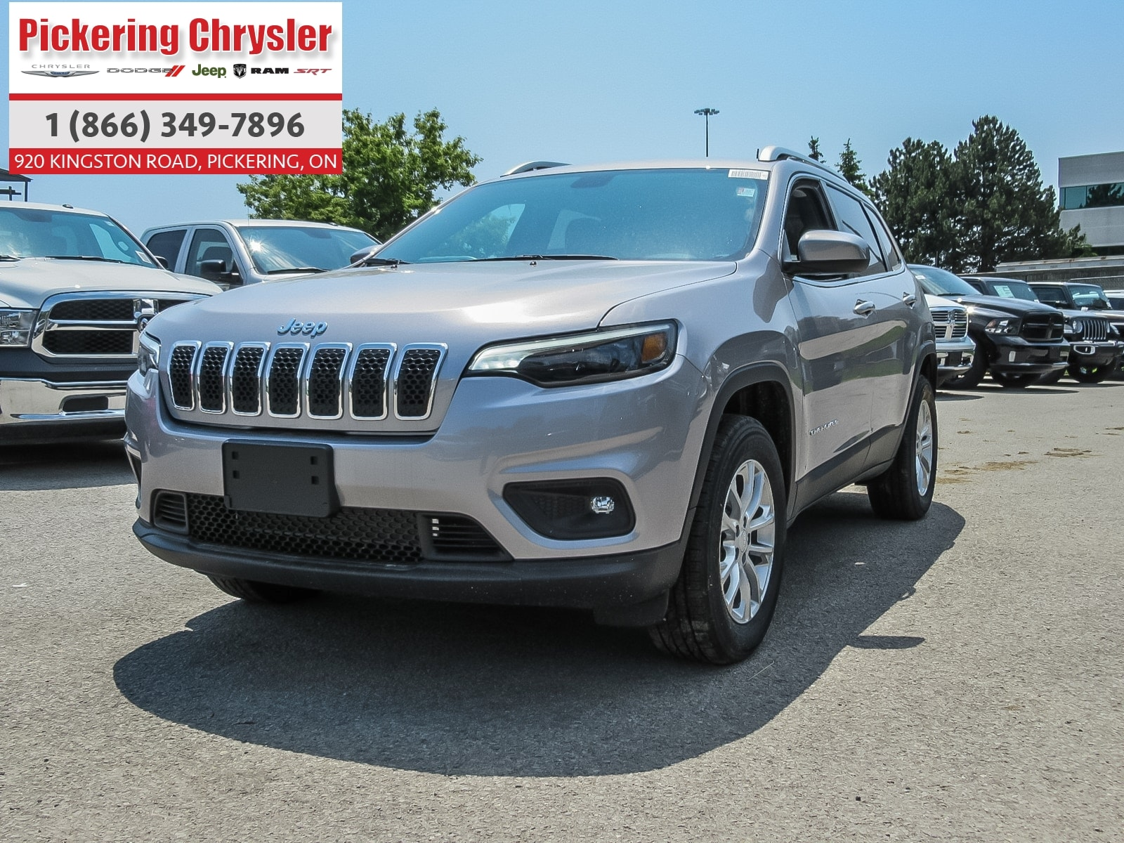 2019 Jeep New Cherokee HEATED SEATS ALLOYS PUSH START REMOTE START SUV